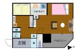 S-Style SUMUKA おもろまち駅 1号部屋 間取り図